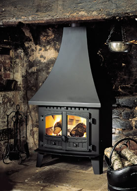 Wood Burning Stoves - Herald Inglenook